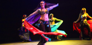 Belly Dance at Studio Spin