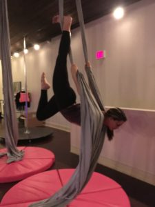 Aerial Silks at Studio Spin
