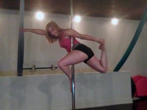 pole classes at Studio Spin