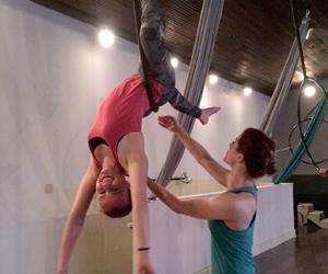 Lyra Class at Studio Spin